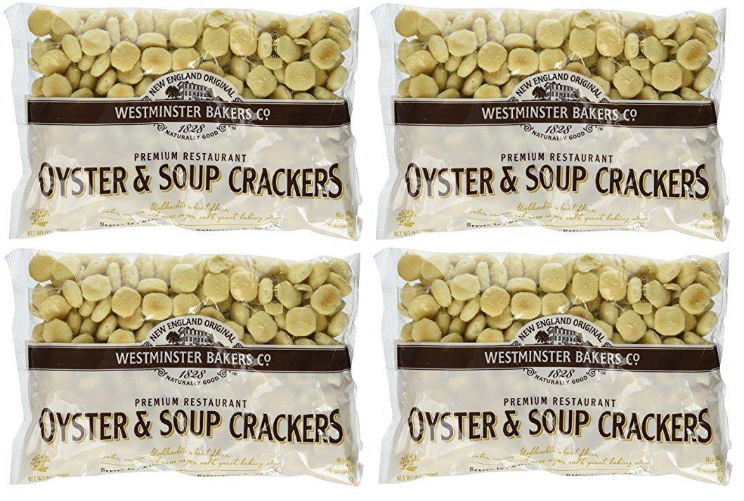 New England Original | Westminster Bakeries Company | Premium Restaurant Oyster & Soup Crackers | 4 Pack