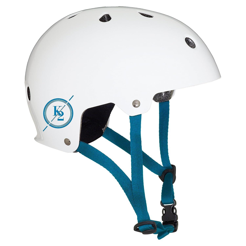 K2 ヘルメット VARSITY HELMET ホワイト/ブルー L I1804005016   B076NG25ZL