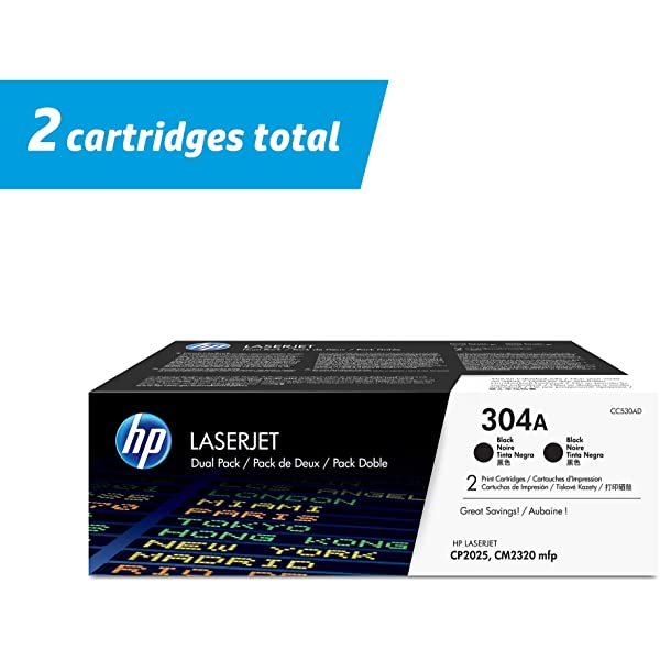 HP CC533A 304A Magenta Toner Cartridge LaserJet CM2320 Genuine New Sealed Box