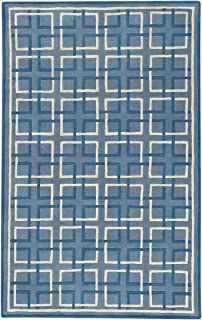 "product image for Capel Framework Blue 9' 0"" x 12' 0"" Rectangle Hand Tufted Rug"