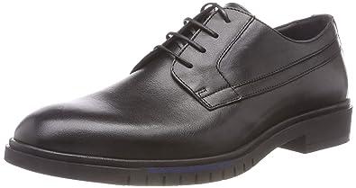 28810fc05 Tommy Hilfiger Men s Flexible Dressy Leather Shoe Derbys  Amazon.co ...