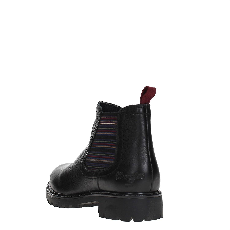 Wrangler - Wrangler Creek Chelsea Leather Stivaletti Donna Neri   Amazon.co.uk  Clothing 8bed737e07e