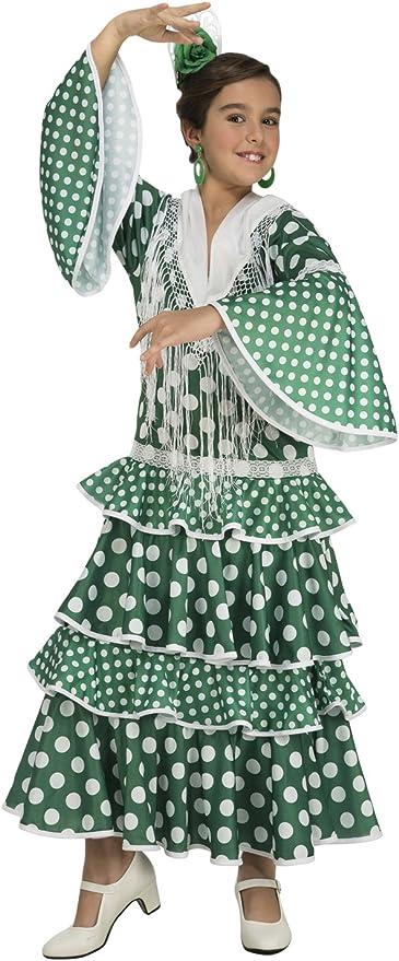 My Other Me Me-203853 Disfraz de flamenca giralda para niña, color ...