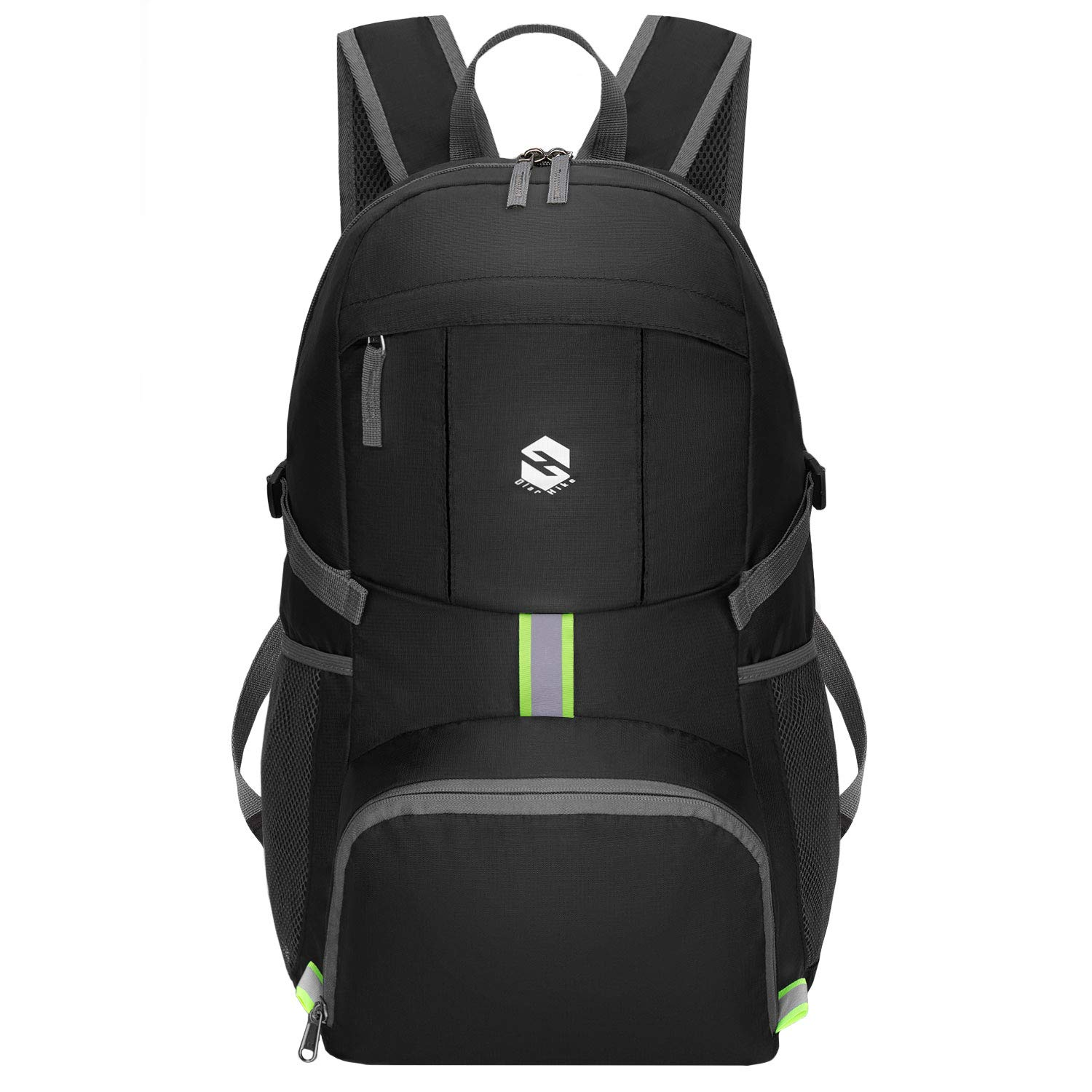 OlarHike Lightweight Travel Hiking Backpack, Packable Daypack with Reflective Stripe Water Resistant Hiking Outdoor Camping Backpacks for Men Women by OlarHike