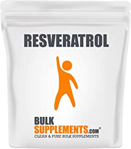 BulkSupplements Pure Resveratrol Powder (25 Grams)