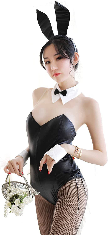 Kadila Bodysuit Costume Women Lingerie Set Bunny Girl Kitty Cosplay