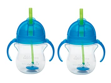 Munchkin Click Lock Tip /& Sip Straw Cup 200ml 2 PACK