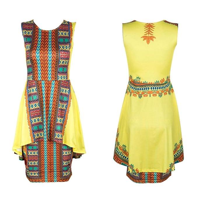 Rcool Stil für Frauen Damen Sommer Vintage traditionelle ...