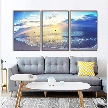 Amazon Com North King Oil Painting Art Pattern Ocean Landscape