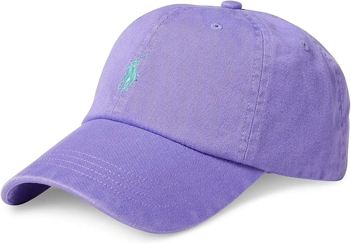 Ralph Lauren - Gorra de béisbol - Morado Hampton Purple: Amazon.es ...