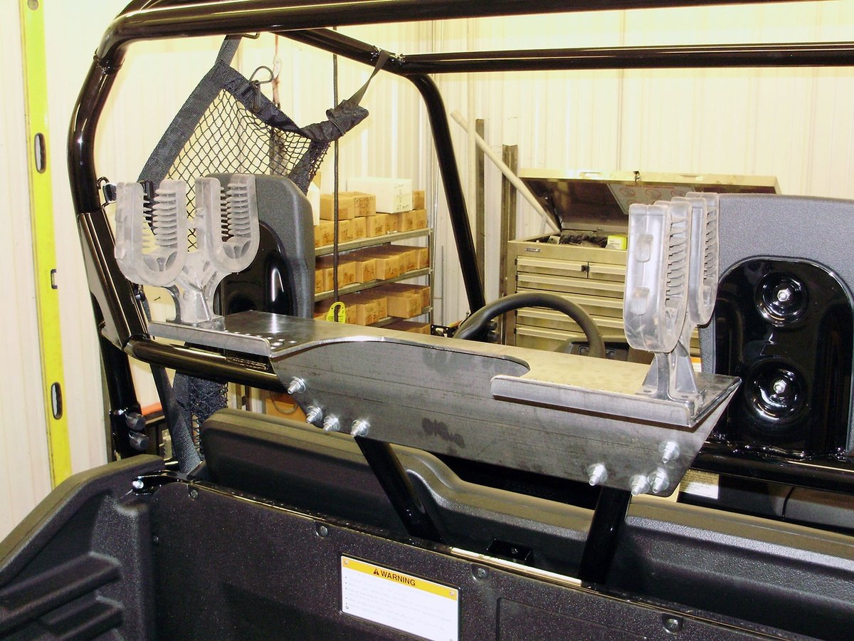 2014-2017 Honda Pioneer 700 Cage Mount Gun Rack By Strong Made GR148 by Strong Made