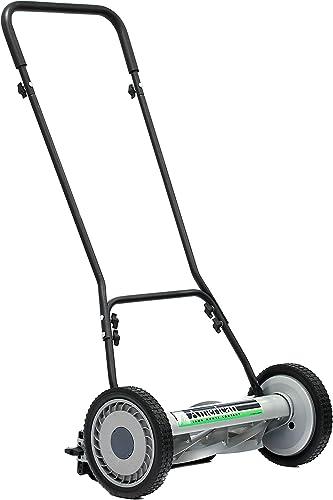 American Lawn Mower Company 1815-18 815-18 Reel Lawn Mower, 18-Inch, 5-Blade, Black Renewed