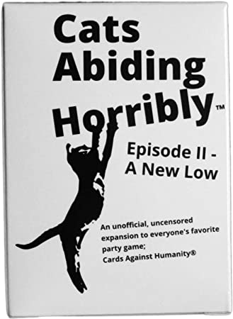 150 New Cards For Horrible People Cats Abiding An Expansion Against Humanity