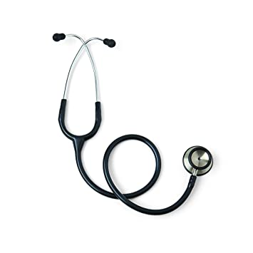 Medline MDS926501 Synergy Classic Stethoscope, Black