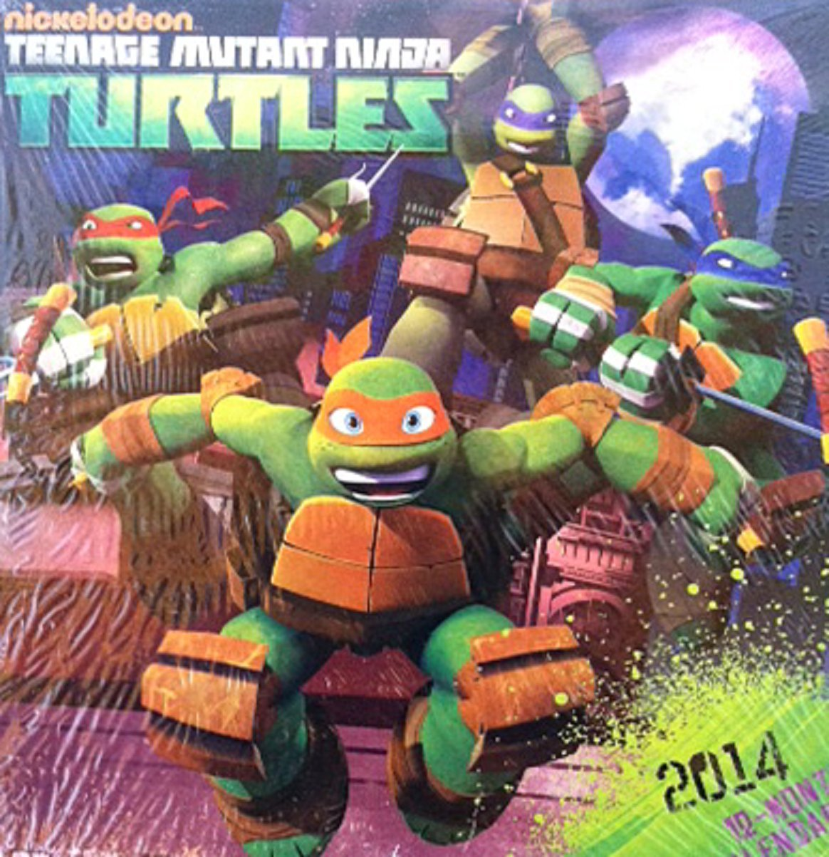 Teenage Mutant Ninja Turtles Wall Calendar - 2014 - 10
