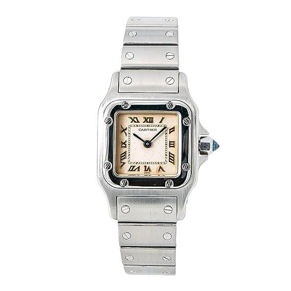 Cartier Santos galbee Cuarzo Mujer Reloj 1565 (Certificado) de Segunda Mano