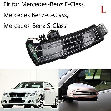 BOXATDOOR Car Turn Side Indicator Door Side Wing Mirror Signal Lamp Left  for Benz S-Class E-Class C-Class