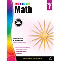 Spectrum Math Workbook, Grade 7