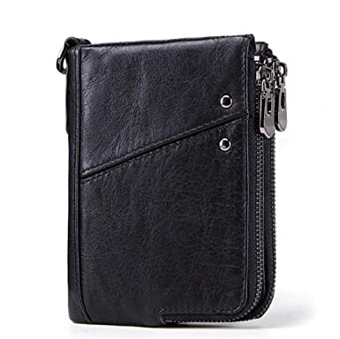 9c7ad05d1a52 Youngate Men RFID Blocking Leather Bifold Wallet Credit Card Holder ...