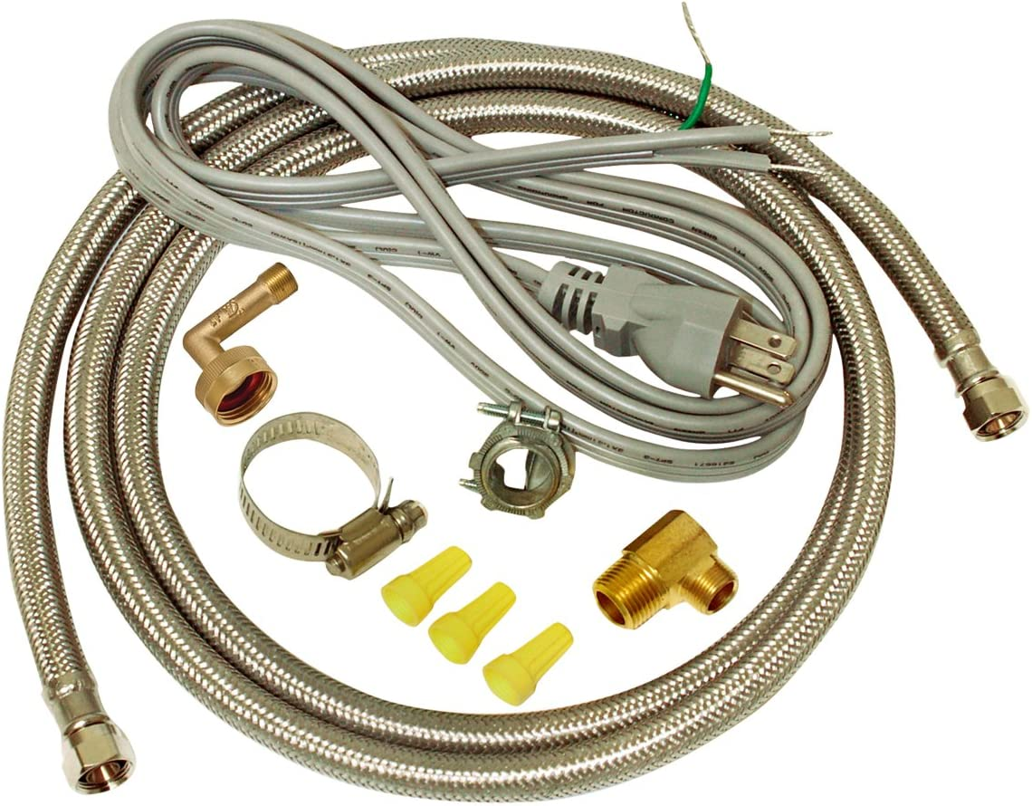 Amazon Com Ez Flo 48337 Dishwasher Braided Stainless Steel Installation Kit With 72 In Connector 6 Ft Pigtail Cord Home Improvement,Whole House Interior Paint Color Schemes