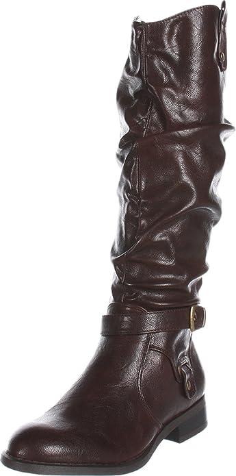 White Mountain Women's Latigo Boot,Brown Smooth,6 B (M) US