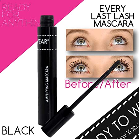 Ready To Wear 3-IN-1 EVERY LAST LASH MASCARA Amplifying Mascara Cooling Lengthening Long BLACK