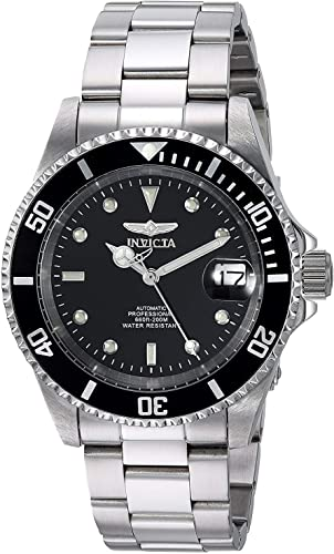 Amazon.com: Invicta Men's Pro Diver 40mm Stainless Steel Automatic Watch,  Silver (Model: 8926OB): Invicta: Watches