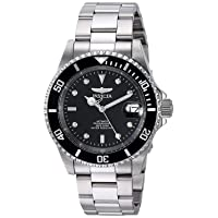 Men's Pro Diver 40mm Stainless Steel Automatic Watch, Silver (Model: 8926OB)