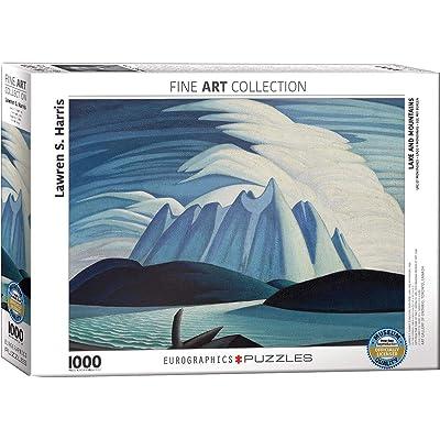 EuroGraphics Lake & Mountains Lawren Harris Puzzle (1000 Piece): Toys & Games