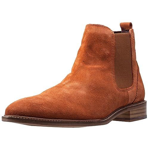 London Brogues Hamilton Mens Chelsea Boots Tan - 8 UK  Amazon.co.uk ... 4b10f5bc48f7