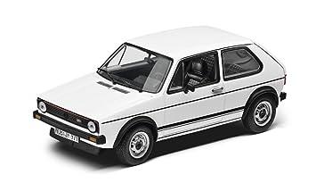 Original Vw Volkswagen Golf 1 Gti Modellauto 143 Weiss Amazonde Auto