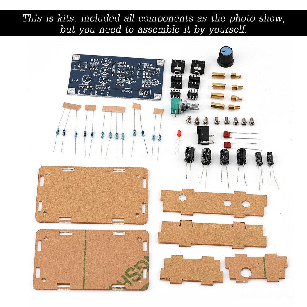 Fosa Headphone Amplifier Single Supply Portable HIFI Headphone Amplifier Module Board DIY AMP Kits