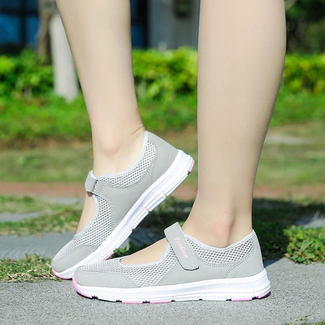 QinMM Zapatos Zapatillas Respirable Mocasines Deportes Mujer