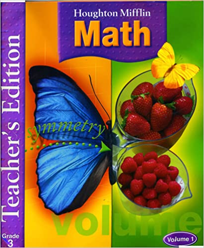 Math Worksheets houghton mifflin math worksheets grade 5 : Houghton Mifflin Math, Grade 3, Vol. 1, Teacher's Edition ...