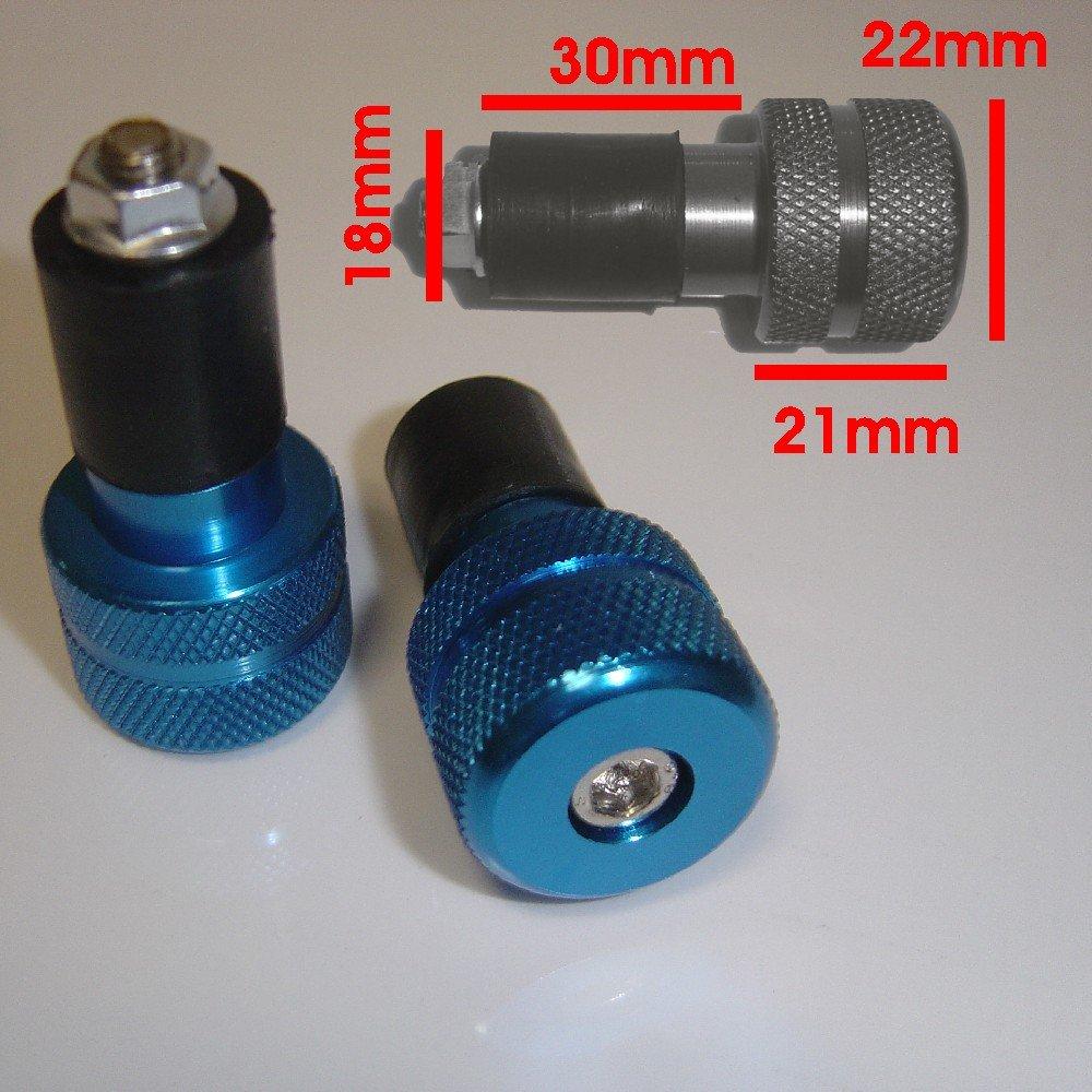 Contrappesi Stabilizzatori Manubrio Bilancieri Universali Moto Scooter Blu A-PRO 5180000021788