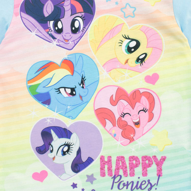 Mio Mini Pony Pigiama a Maniche Lunghe per Ragazze My Little Pony