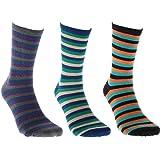 Globe Deluxe Sock Nep Stripe 3 Pack Socks Size 7-11 UK