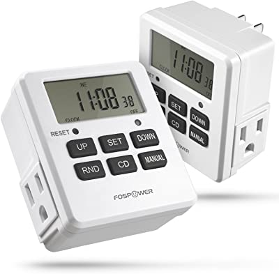 FosPower Timers for Electrical Outlets