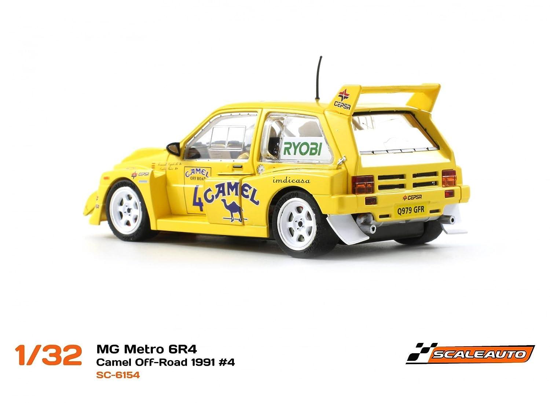 Scaleauto SC-6154R MG Metro 6R4 Camel Off-Road 1991 n.4: Amazon.es: Juguetes y juegos