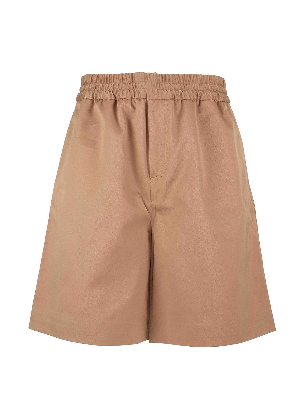 Acne Studios Mens BE0009HAZ Beige Cotton Shorts