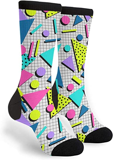 Casual Surf Beach Summer Socks Cotton Dress Socks For Men Women