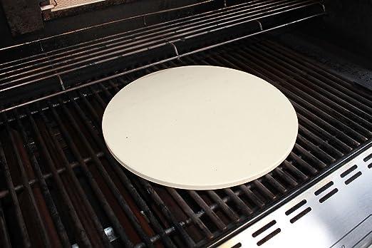 Weber Holzkohlegrill Pizza : Santos premium pizzastein rund 26 cm Ø bis 1.000 grad für