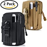 Universal Tactical Waist Belt Bag   Outdoor EDC Military Holster Waist Wallet Pouch Phone Case Gadget Pocket for iPhone X 8 7 6 6s Plus Samsung Galaxy S8 S7 S6 S5 S4 S3 Note 8 5 4 3 2 LG G5 LG HTC