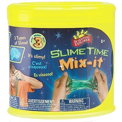 Scientific Explorer Slime Time Mix It: Toys & Games