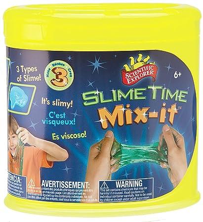 Amazon.com: Scientific Explorer Slime Tiempo Mix It: Toys ...
