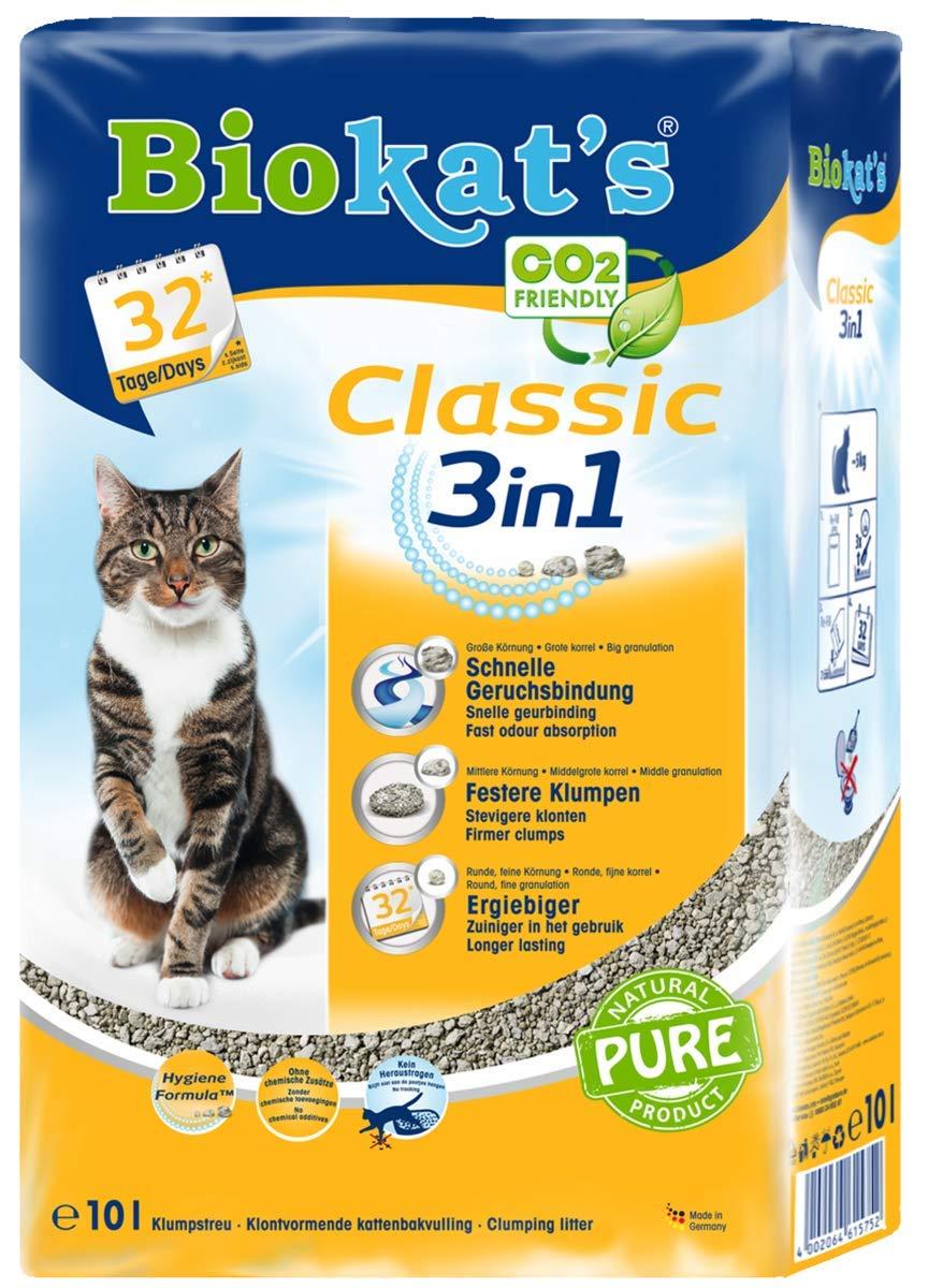Gimborn Biokat's Classic - Litière 3en 1pour Chat 615769