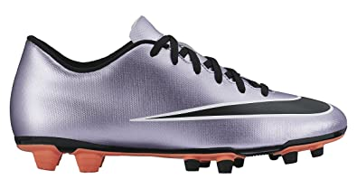 d7edfbb8bcc Nike New Mens Mercurial Vortex II FG Soccer Cleat Lilac Black 8.5