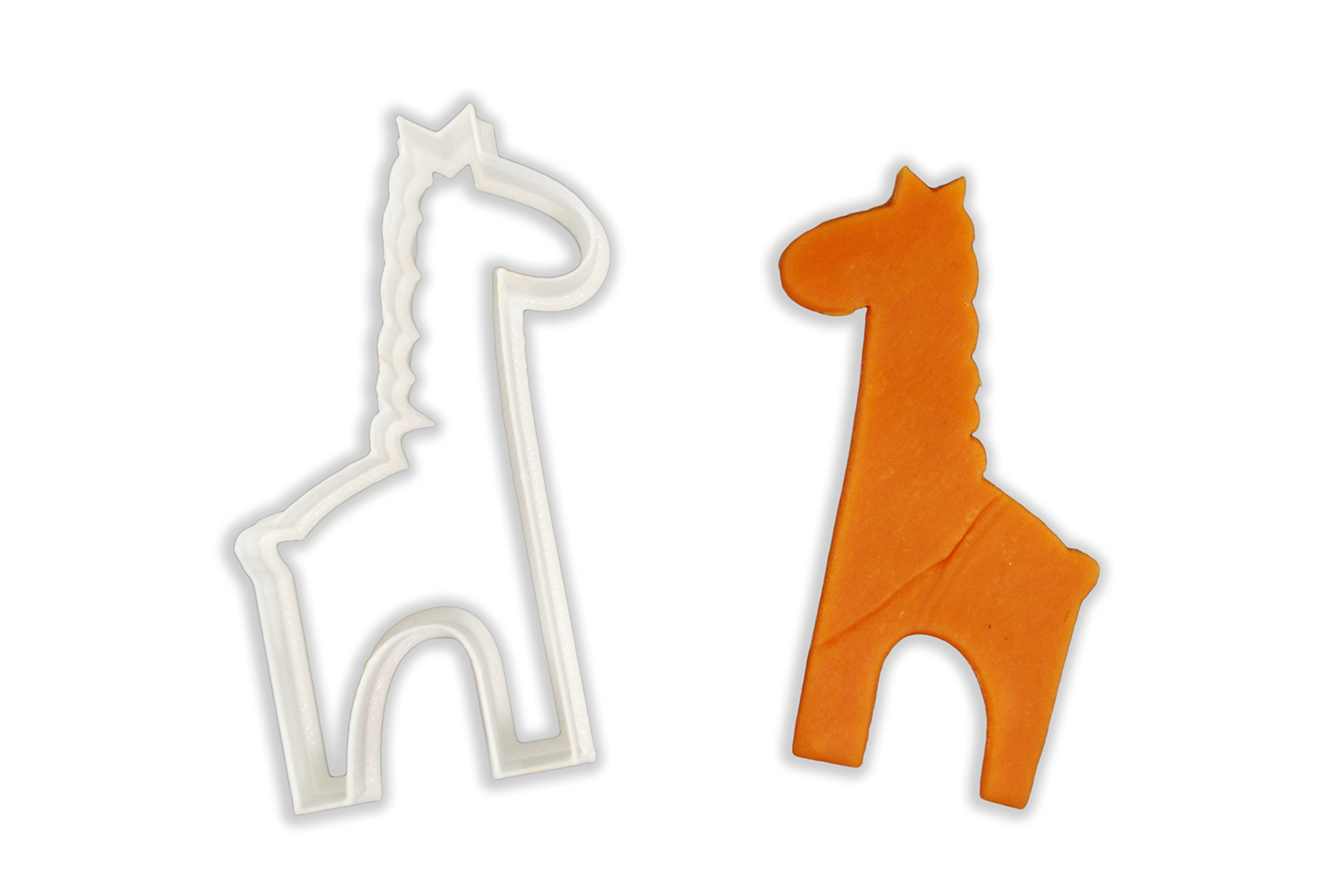 Cute Giraffe Animal Cookie Cutter - LARGE - 4 Inches