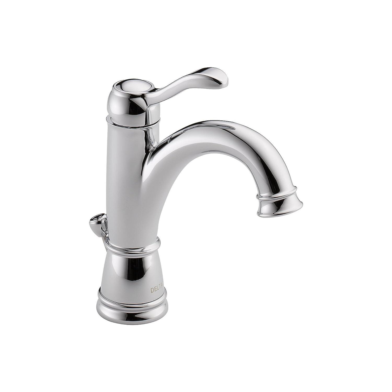 Delta 15984LF Porter Single Handle Centerset Bathroom Faucet, Chrome ...