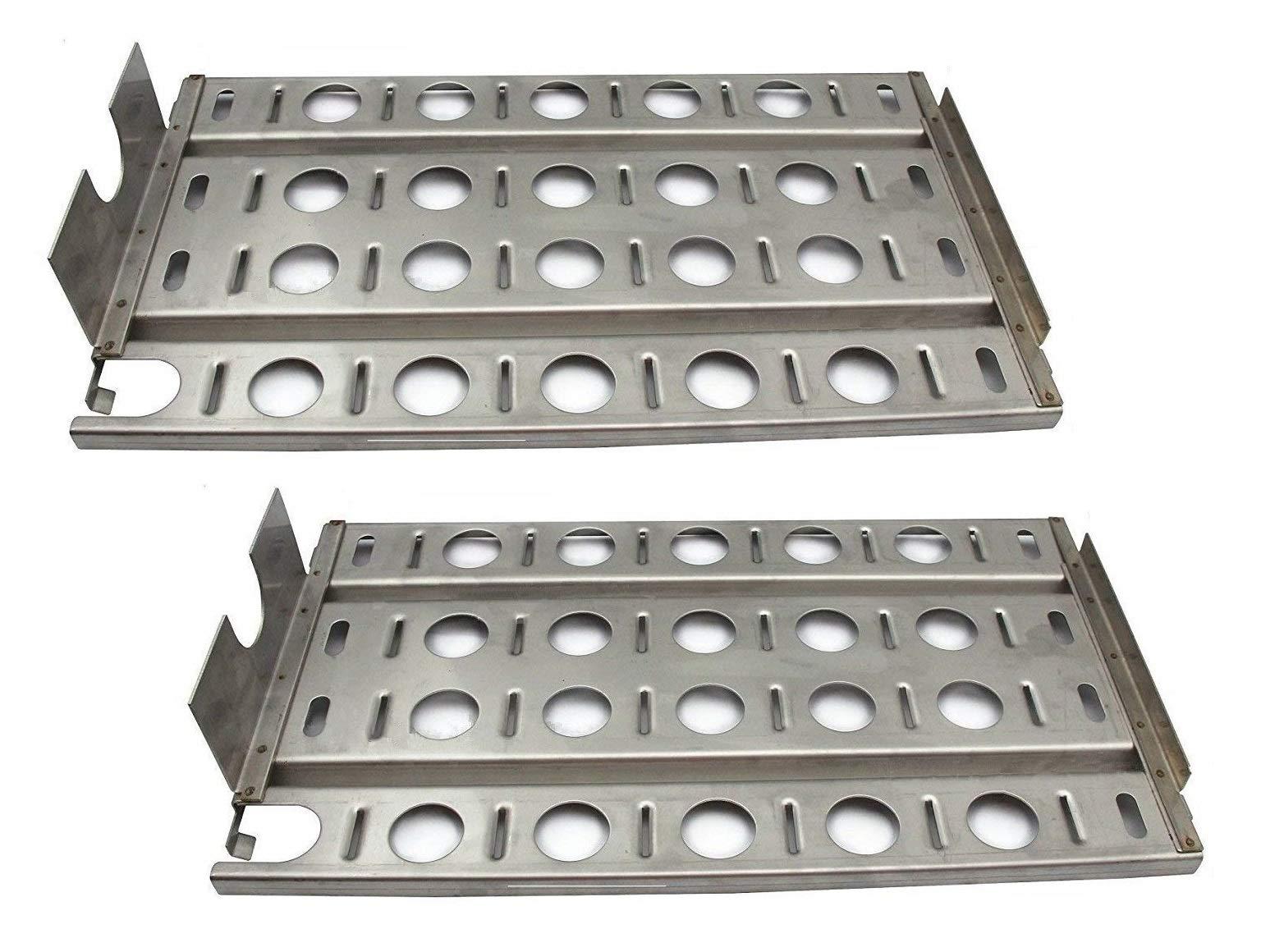Hongso SPB571-2 Stainless Steel BBQ Gas Grill Heat Plate, Heat Shield for Lynx L27 Models (16 7/8'' x 9 1/2'') by Hongso